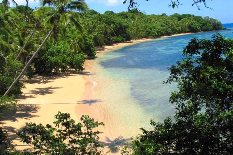Beach View from Frangipani, Nuku Fiji Resort for sale