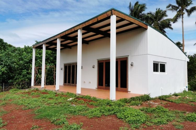 Two duplexes on ½ ac + by the sea, Vavau, Tonga