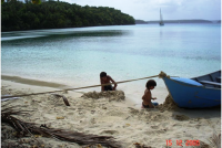 Beachfront house for sale in Vavau, Tonga, South Pacific
